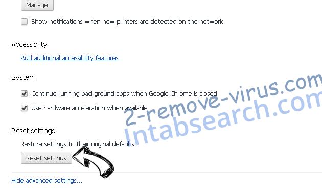 You Have Won A Google Gift Scam Chrome advanced menu