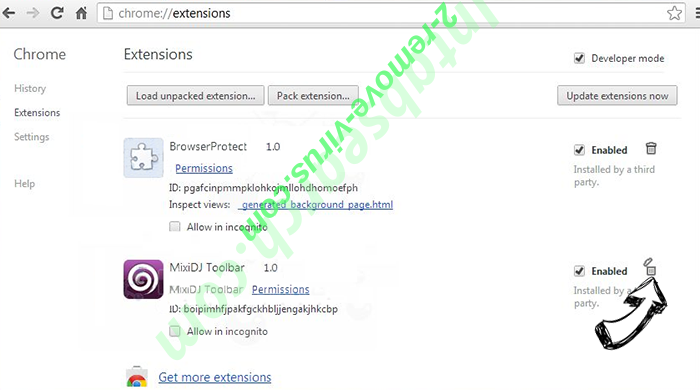 You Have Won A Google Gift Scam Chrome extensions remove