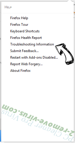Searchwebs.xyz Firefox troubleshooting