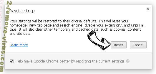 Search.hfastmapsanddirections.com Chrome reset