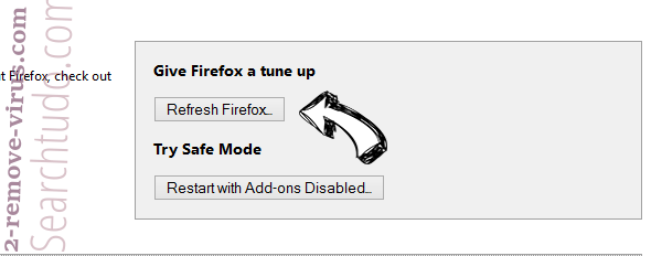 Internet-start.net virus Firefox reset