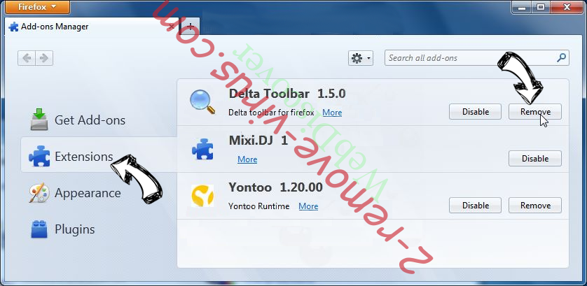 AdsRemoved - AdBlocker Firefox extensions