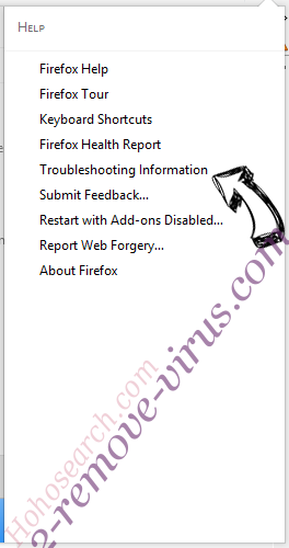 Searcher4u.com Firefox troubleshooting
