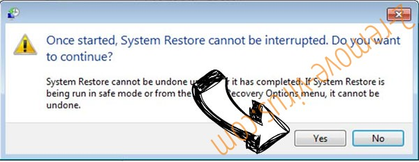 .jojocrypt file virus removal - restore message