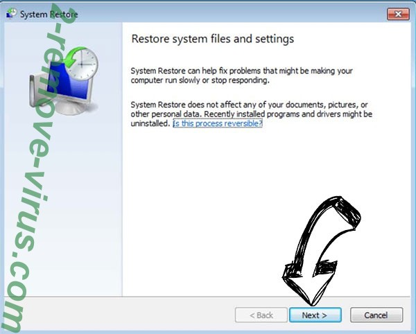 Get rid of Acuna file ransomware - restore init