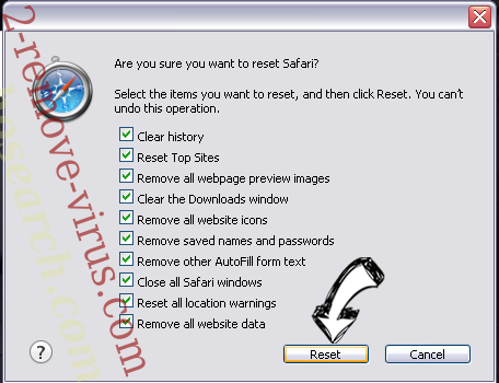 Searcher4u.com Safari reset