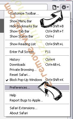 InstaQuick adware Safari menu