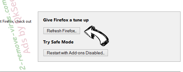 SearchStreams Firefox reset