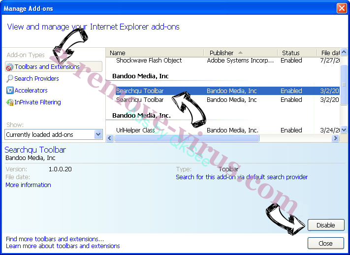 UniversalToolSearch IE toolbars and extensions