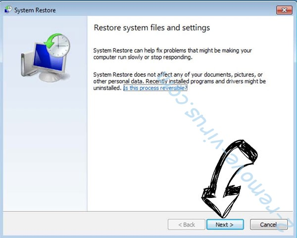 Get rid of .4o4 file virus - restore init