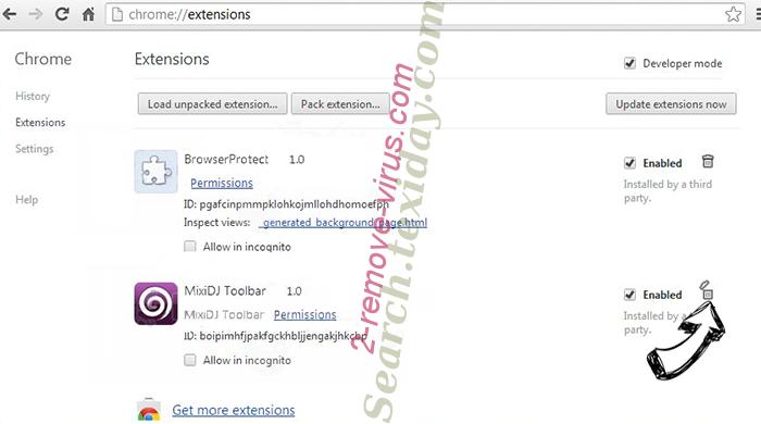 ScoreardResearch.com Chrome extensions remove