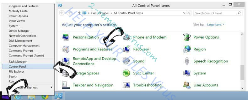 Delete Robot Captcha Info from Windows 8