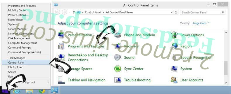Delete Advance PC Solutions from Windows 8