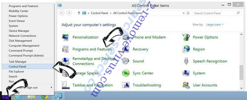 Delete FlawedAmmyy Trojan from Windows 8