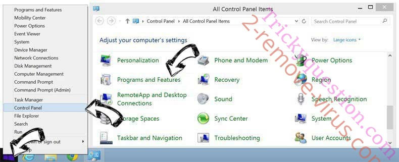 Delete How To DIY virus from Windows 8