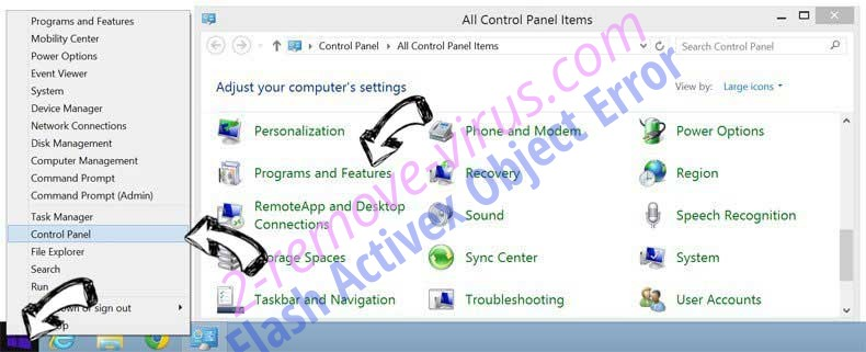 Delete ProductManualsGuide from Windows 8