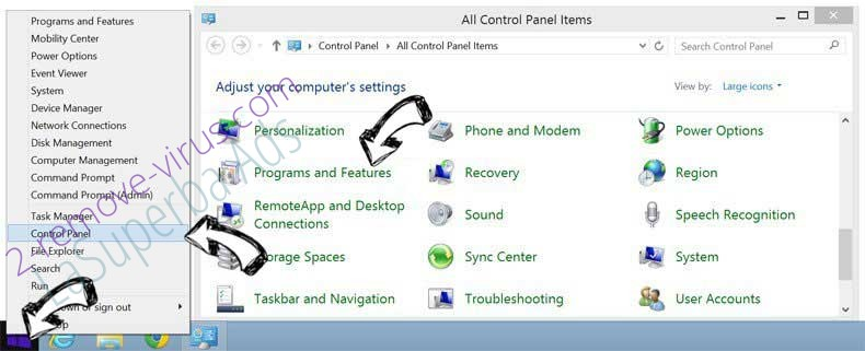 Delete ConvertMySearch from Windows 8