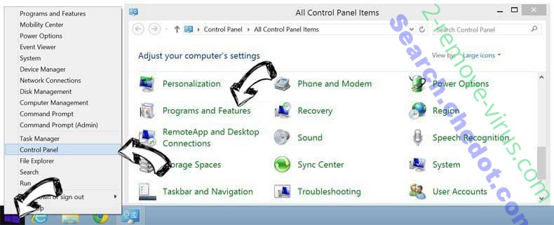 Delete ConverterSearchNow from Windows 8