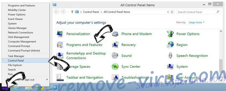 Delete MyCalendarPlanner Toolbar from Windows 8