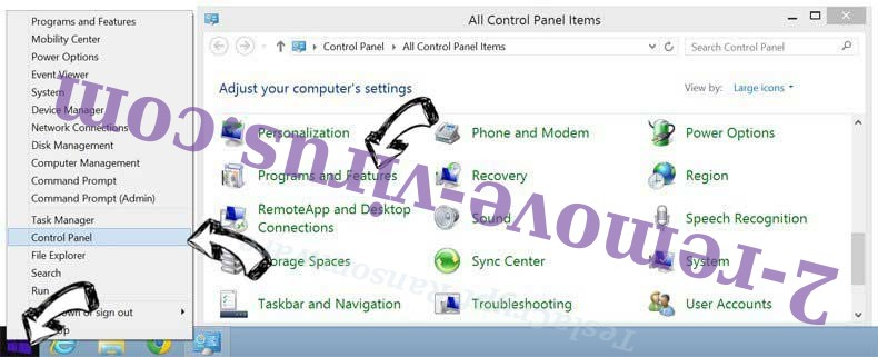Delete Web Companion Unwanted Application from Windows 8
