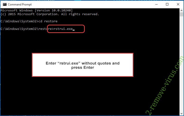 Delete .Igdm extension virus - command prompt restore execute