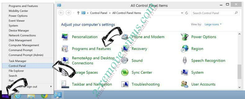 Delete Jupiter Support Optimizer from Windows 8