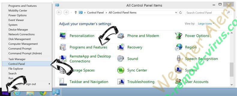 Delete Driver Tonic Virus from Windows 8