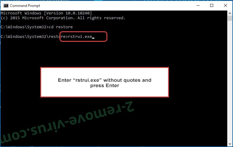 Delete .Pxj file virus - command prompt restore execute