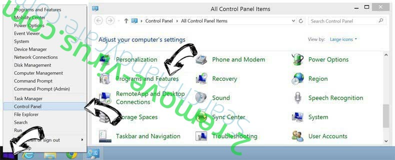 Delete Getone-news pop-ups from Windows 8