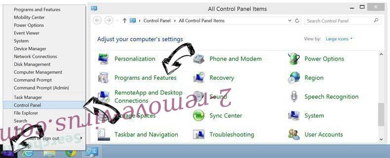 Delete Mycoolnewz.com Ads from Windows 8