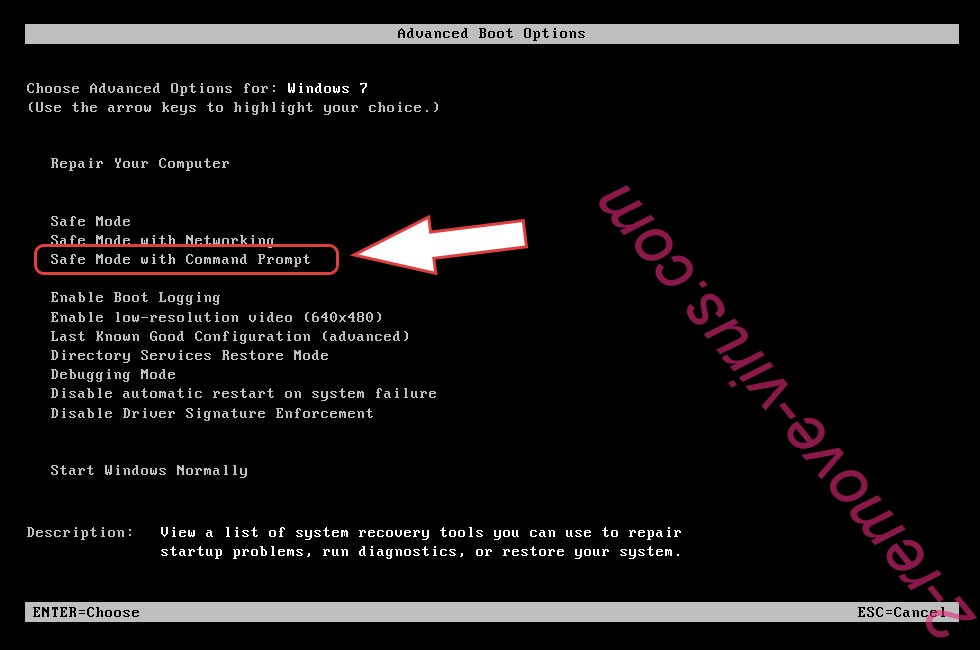 Remove DEcovid19bot ransomware - boot options