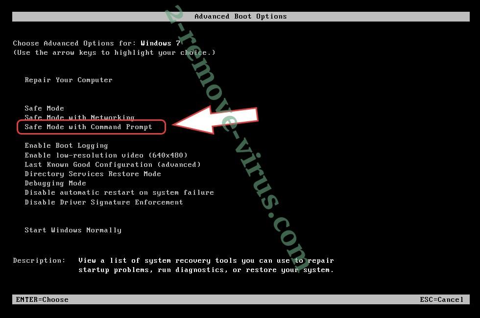 Remove TROJAN Error Code 0xdc2dgewc - boot options