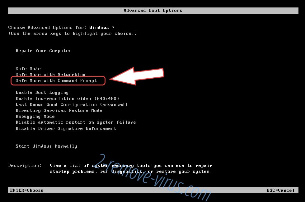 Remove VirTool:Win32/DefenderTamperingRestore - boot options