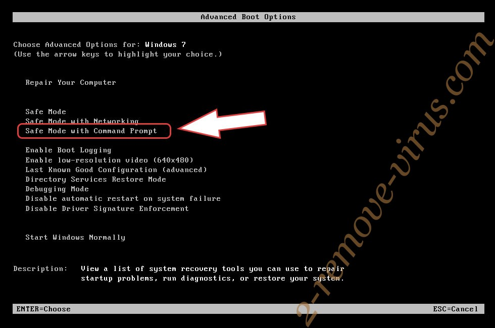 Remove OSAMiner Mac Malware - boot options