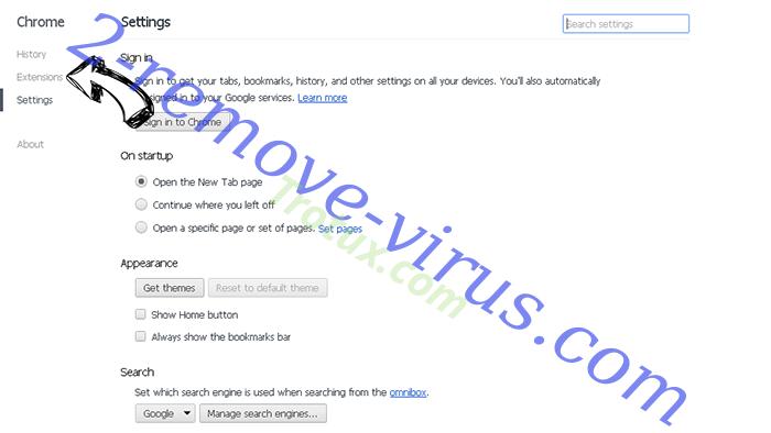 Leddolettitor.info Chrome settings