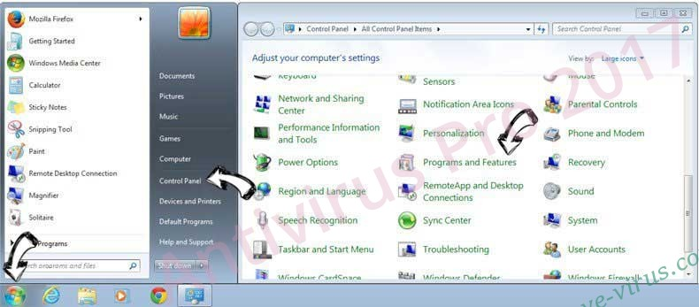 Uninstall Nero TuneItUp Unwanted Application from Windows 7