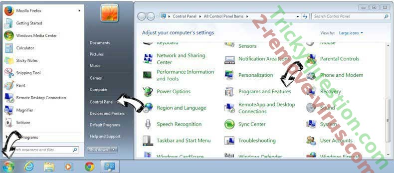 Uninstall How To DIY virus from Windows 7