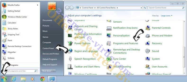 Uninstall FluBot Malware from Windows 7
