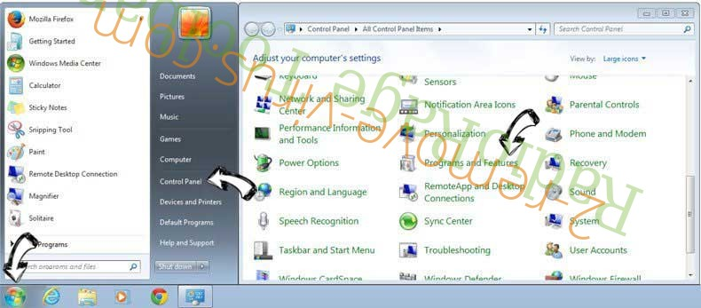 Uninstall AoBo keylogger from Windows 7