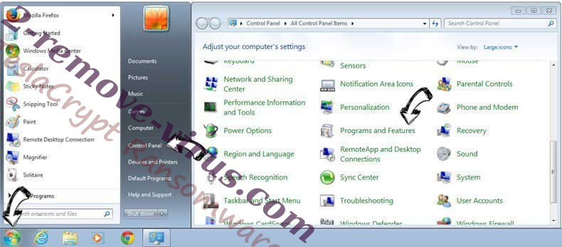 Uninstall ChannelSystem Adware from Windows 7