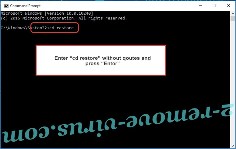 Uninstall OSAMiner Mac Malware - command prompt restore