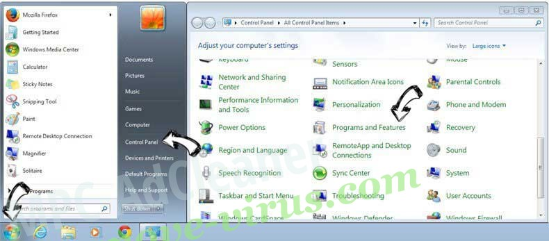 Uninstall One10 PC Cleaner from Windows 7