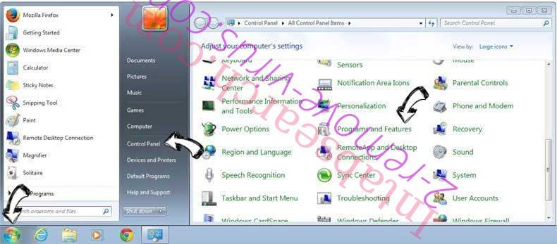Uninstall K9-PCFixer from Windows 7