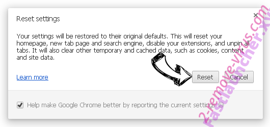 GetRadioSearch Chrome reset