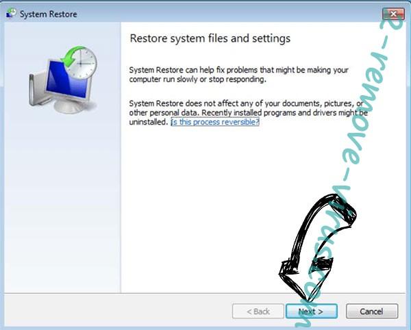 Get rid of GenericRXGC Trojan - restore init
