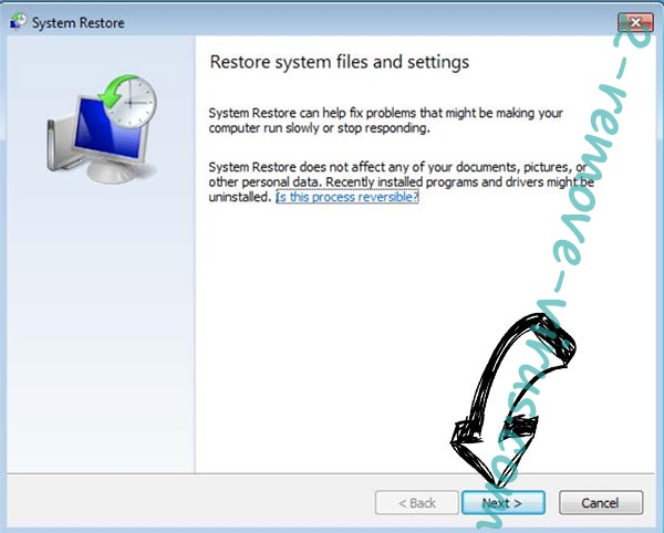 Get rid of Verwijderen Boop file virus - restore init