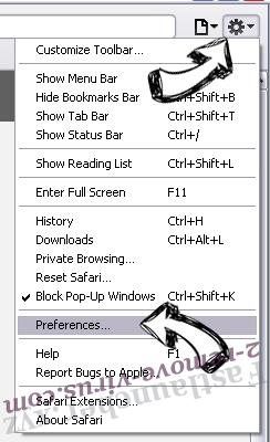GetRadioSearch Safari menu