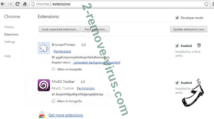myhelpfuldownloads[.]com Chrome extensions remove