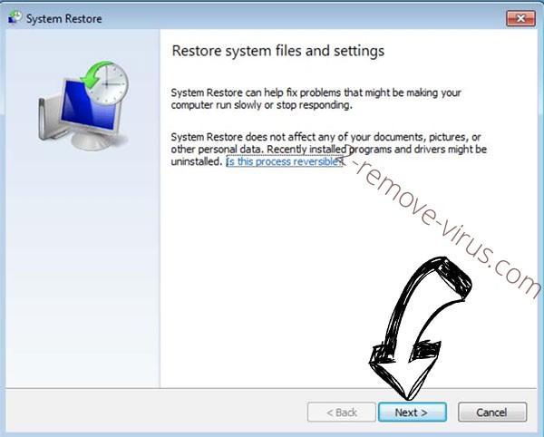 Get rid of yUixN Ransomware - restore init