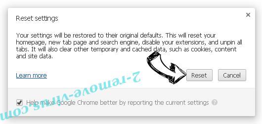 Unhadrenronre.pro Chrome reset